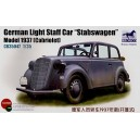 German Light Staff Car 'Stabswagen' Model 1937 Cabriolet