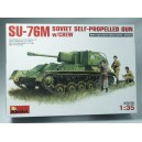 SU-76M Soviet Self-propelled Gun w/crew