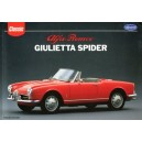 Alfa Romeo, Giulietta Spider, English Edition