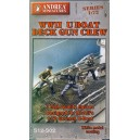 WWII U Boat Deck Gun Crew