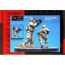 U.S. Stryker Brigade - OIF ACU Inantry - 2 Figures