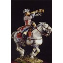 Mounted Trumpeter Orleans Cavalry 1724-30
