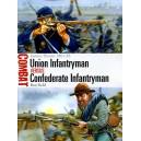 Union Infantryman Versus Confederate Infantryman - Eastern Theater 1861-65
