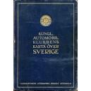 Kungl Automobilklubbens karta över sverige