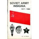 Soviet Army Insignia 1917-1985