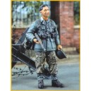 Soldat allemand au repos