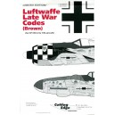 Luftwaffe Late War Codes Brown