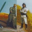 LW-Feuerwehrmann und Mechaniker