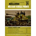 Bellona Military Vehicle Prints - Series 21