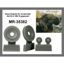 MR-35382 front wheels for Sd.Kfz. 8 TRUMPETER