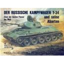 Der Russische Kampfwagen T-34 und seine Abarten