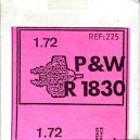 P & W R 1830