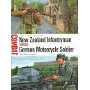New Zealand Infantryman vs German Motorcycle Soldier Greece and Crete 1941