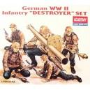 Germany WWII Infantry Destroyer Set