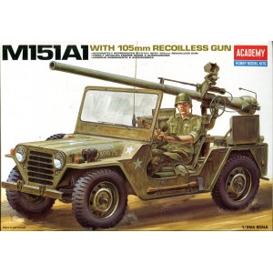 M151A1 w 105mm Recoilless Gun