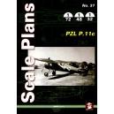 Scale Plans: PZL P.11c