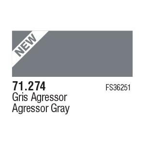 274 Agressor Grey