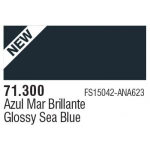 300 Glossy Sea Blue
