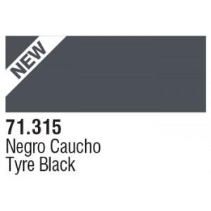 315 Tyre Black