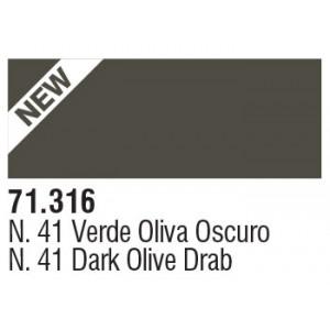 316 N41 DK. Olive Drab