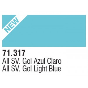 317 AII SV. Gol Light Blue