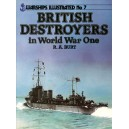 British Destroyers in World War One