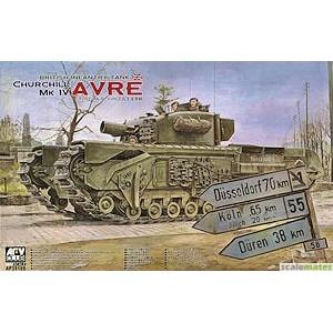 British Infantry Tank Churchill MK IV AVRE