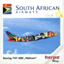 South African Airways Boeing 747-300 Ndizani