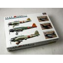 Japanese Navy Aircraft Carrier based Set 1:350 WWII Special