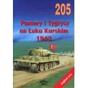 Panther and Tiger Tanks at Kursk