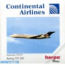 Continental Airlines Boeing 727-200