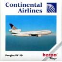 Continental Airlines Douglas DC-10