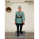 Finnish Marshal Carl Gustaf Emil Mannerheim 120mm