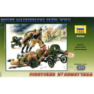 Soviet Machineguns Crew WWII