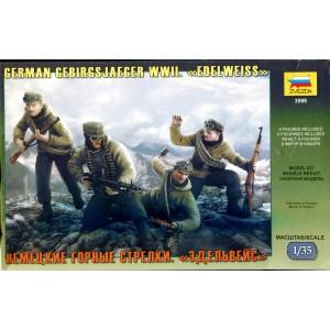 German Gebirgsjaeger  WWII Edelweiss