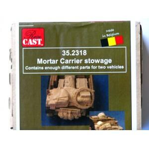 Mortar Carrier Stowage Set