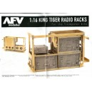 1:16TH SCALE KING TIGER RADIO RACKS