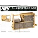 1:16TH SCALE KING TIGER RADIO RACKS