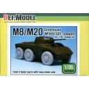 M8/M20 Grehound Wheel Set - Sagged