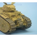 Char B1 bis German Wehrmacht Update set for Tamiya