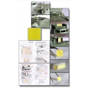 AMX-30B & AUF1 Vision Block & Panel Masks for Meng Model