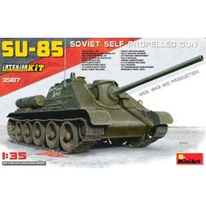Soviet SU-85 Mod.1943 (Mid Production) with Full Interior