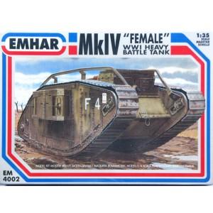 MkIV Female WWI Heavy Battle Tank