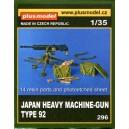 Japan Heavy Machine-Gun Type 92