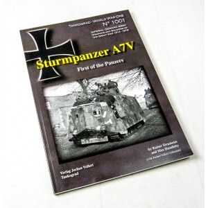 Sturmpanzer A7V - First of the Panzers