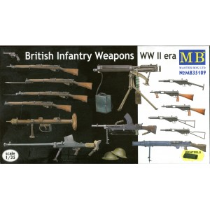 British Infantry Weapons WWII Era