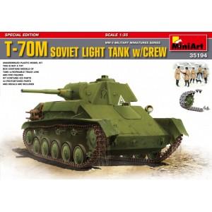 T-70M Soviet Light Tank with Crew