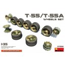 Soviet T-55/T-55A Wheels Set
