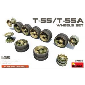 Soviet T-55/T-55A Wheels Set