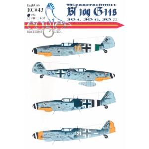 Bf 109G-14s JG 1, JG 52 and JG 77